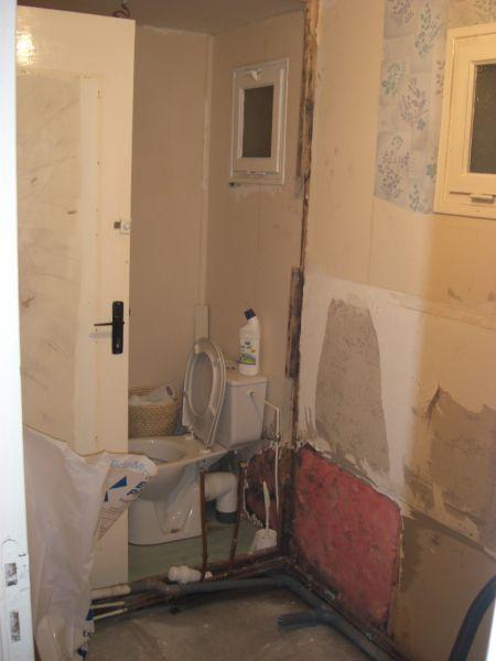 Travaux dans la salle de bain bienvenue chez nous - Travaux salle de bain ...